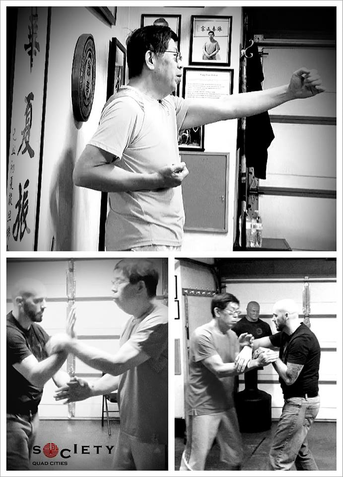 Eric Li Chris Kellner Wing Chun